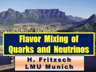 Flavor  Mixing  of  Quarks  and  Neutrinos