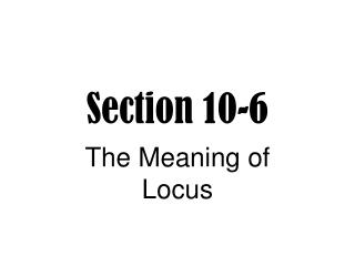 Section 10-6