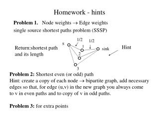Homework - hints