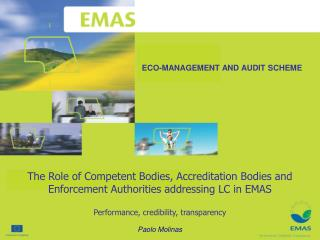 ECO-MANAGEMENT AND AUDIT SCHEME