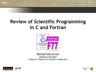 Review of Scientific Programming in C and Fortran