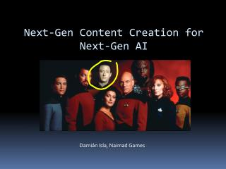 Next-Gen Content Creation for Next-Gen AI