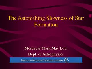 The Astonishing Slowness of Star Formation