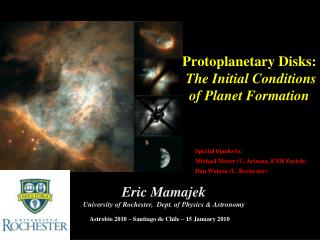 Protoplanetary Disks:  The Initial Conditions of Planet Formation