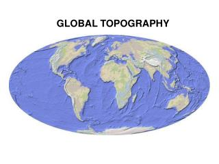 GLOBAL TOPOGRAPHY