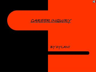 CAREER INQUIRY