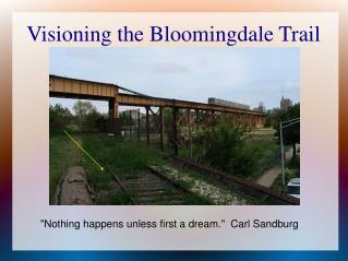 Visioning the Bloomingdale Trail
