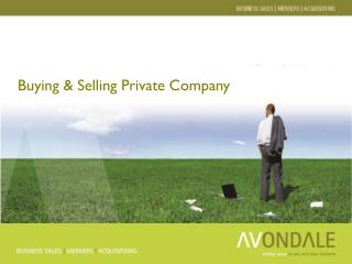 Buying & Selling Private Company