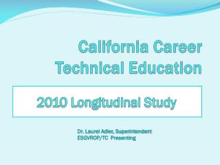 California Career Technical Education