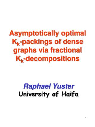 Asymptotically optimal K k -packings of dense graphs via fractional K k -decompositions