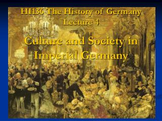 HI136 The History of Germany Lecture 4
