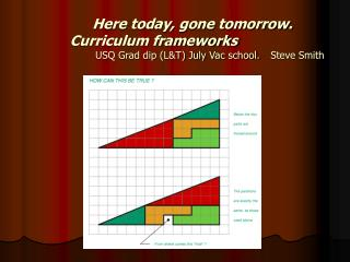 What is our curriculum framework?
