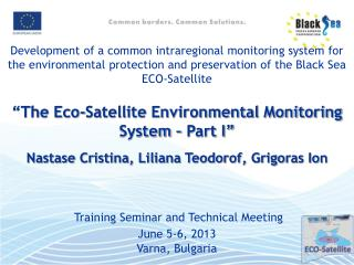 Methodology for selection of monitoring stations location