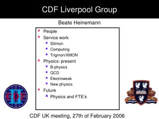 CDF Liverpool Group