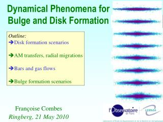 Dynamical Phenomena for Bulge and Disk Formation