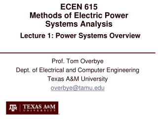 EE 615 Lecture 4