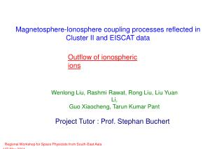 Magnetosphere-Ionosphere coupling processes reflected in  Cluster II and EISCAT data