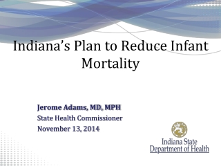 Indiana's Plan to Reduce Infant Mortality