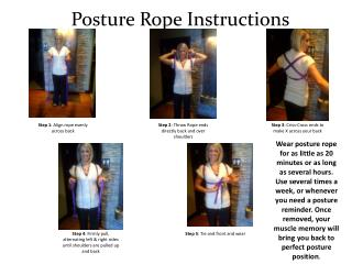 Posture Rope Instructions