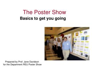 The Poster Show