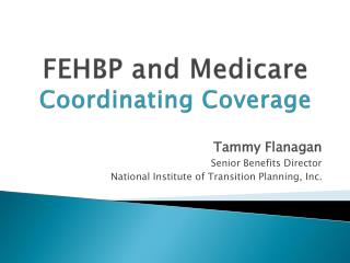 FEHBP and Medicare Coordinating Coverage