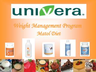 Weight Management Program  Matol Diet