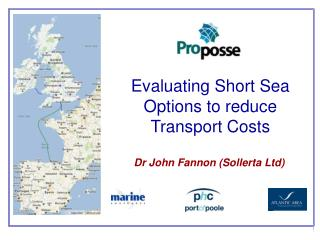 Evaluating Short Sea Options to reduce Transport Costs