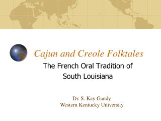 Cajun and Creole Folktales