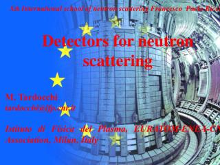 Detectors for neutron scattering