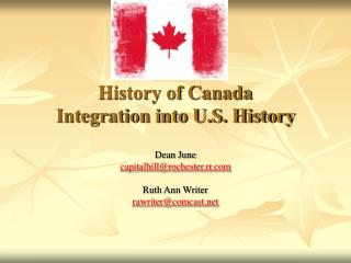 History of Canada Integration into U.S. History