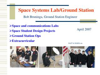 Space Systems Lab/Ground Station