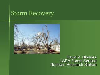 Storm Recovery