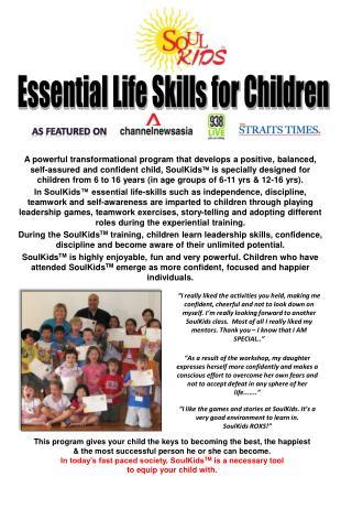 Essential Life Skills for Children