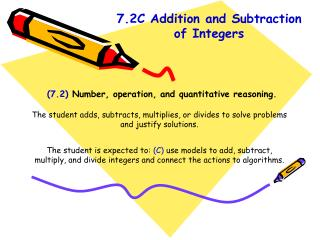 (7.2)  Number, operation, and quantitative reasoning.