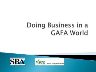 Doing Business in a GAFA World