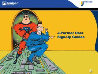 J-Partner User Sign-Up Guides