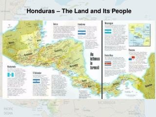 Honduras – The Land and Its People