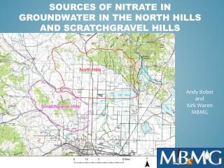 Sources of Nitrate in Groundwater in the North Hills and Scratchgravel Hills