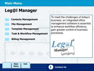 Leg@l Manager