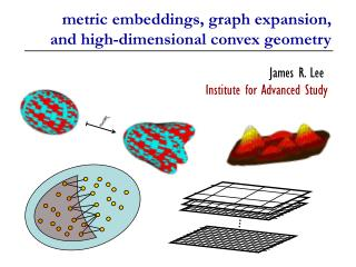 metric embeddings, graph expansion, and high-dimensional convex geometry