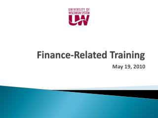 Finance-Related Training