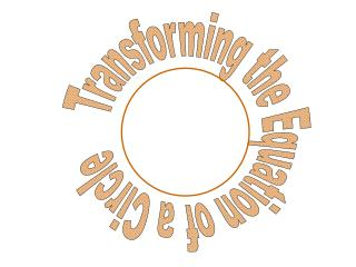 Transforming the Equation of a Circle