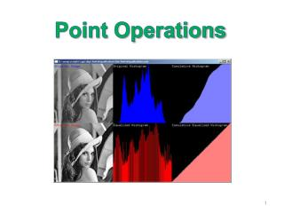 Point Operations