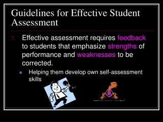 Guidelines for Effective Student Assessment