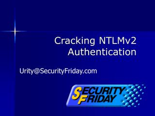 Cracking NTLMv2 Authentication