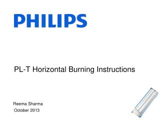 PL-T Horizontal Burning Instructions