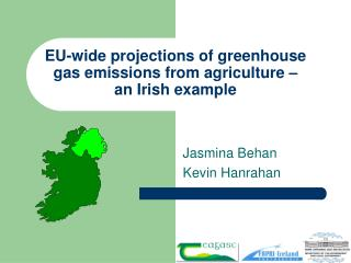 EU-wide projections of greenhouse gas emissions from agriculture – an Irish example