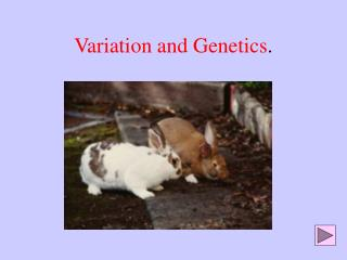 Variation and Genetics .