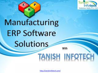 Manufacturing ERP software solution