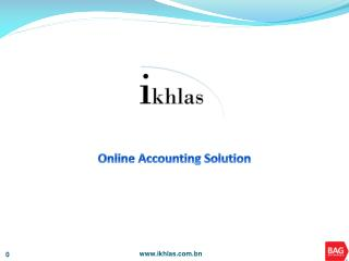 Online Accounting Solution